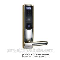 Intelligent Lock/ Fingerprint/ Password/ RF card/ Mechanical key/ 9# stainless steel/ 918RLP-5-F(9#)