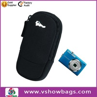 600 D polyester promotional polyester folding camera bag