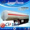 2015 New Good Quality 50M3 Fuel Oil Tanker Semi Trailers