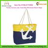 Trendy cotton canvas lady towel bag 2014 wholesale beach bags