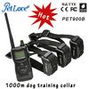 3 dogs training device shock collar pet training collar
