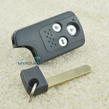 smart key shell HON66 3button for Honda Accord CRV FIT smart key cover