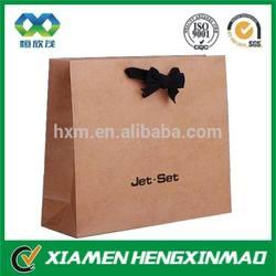 Custom craft paper bag / craft paper shopping bag