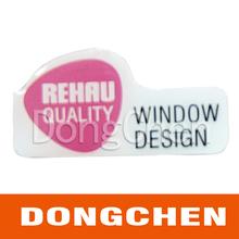 transparent UV resistant car sticker vinyl die cut