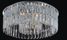 2014 Zhongshan luxury modern crystal ceiling lamp for hotels 7587