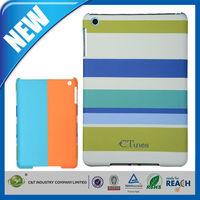 C&T New arrival fresh stripes printing case for apple ipad mini 2 accessories