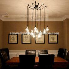 Simple Vintage Industrial antique jason miller modo chandelier