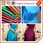 Shaoxing Qunying Taffeta fabric textile company to dubai Fabric factories for couples pajamas and designer wedding dresses satin