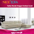 modern confortável sala de estar móveis itália importação top grão sofá de couro k629l