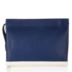 2014 womens navy wristlet bag / hand bag purses / fashion simple clutch bag 5225