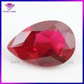 8 * 10 mm pêra ruby5 # Industrial corindo sintético, Criado Ruby
