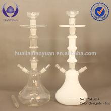 Borosilicate new style white all glass shisha hookah