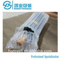 bubble cushion wrap wine bottle air column packaging,air filled bags packaging