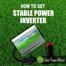 pv solar inverter/dc - ac 150w modify sine wave inverter in solar panel
