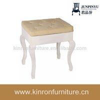 Modern Dresser Table Stool For Bedroom Furniture Cheap Wood Stool Ottoman