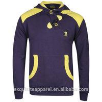 2015 high quality cotton fleece slim fit ski hoodies for men long sleeves pullover 2015 fashion hoodies