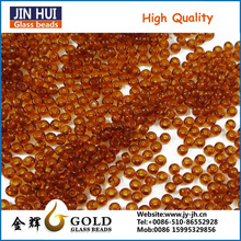 JIN HUI High Quality New Design Glass Seed bead for Gril's Shoes Accessories