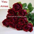 Hotsale seda arranjos florais, flor rosa, flores rosa vermelha,( sou- f- 49)