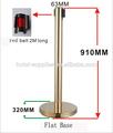 in magazzino la base dimensione 320 millimetri ringhiera in acciaio inox post caldo di nuovi prodotti per il 2014