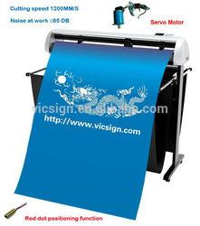 China plotter factory sticker machine/sticker cutting machine/vinyl cutter plotter Vinyl/paper computer Cutting Plotter HW1200