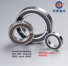 6900 2RS,ZZ,OPEN miniature,thin wall deep groove ball bearing