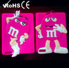 New version m&m's cover case for ipad 2 case soft protector