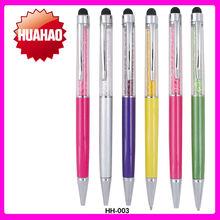 Hot Selling MINI metal diamond pen Promotional multicolor crystal ball pen