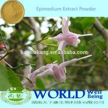 Women/Men Sex Product 10-98% Icariin Epimedium Leaf Extract/Horny Goat Weed Extract Powder/Epimedium Extract