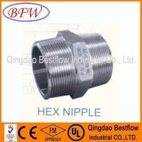 Stainless Steel Hexagonal Nipples