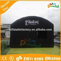 2015 Australia black plastic tent&large camping tent