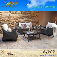 6s606 wicker garden terraço conjunto de sofá