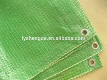 Leno Pe Trapaulin Sheet Green Color UV Treated 180gsm