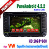 touch screen dvd player for vw Passat B6 With Android4.2.2 Capacitive Screen GPS IPOD BT ATV Wifi 3G 1GB DDR3 AUX IN TA-7003