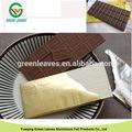 papel de aluminio laminado de papel