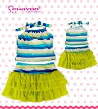 <OEM & ODM> Hot Little Girls Fringed Dress Tankini wholesale Swimwear, Wholesales Swimwear for adult & children