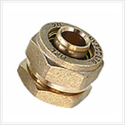Brass swagelok compression fitting , tube fitting