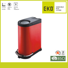 Patented Design Steel Powder Coated Recycle Bin Color Code