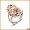 la última de alta calidad de oro anillos de diseño para las mujeres