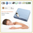 Removable Cable Flat Polar Fleece Polyester Heated Electric Blanket Twin