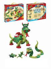 3D Reptile eva puzzle animal toys