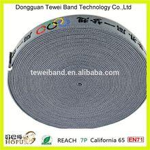 Custom printed elastic gripper,elastic trimming band