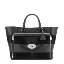 promotion leather shopping tote bags,big tote bags with hair,with removable clutch bags