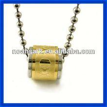 Vente en gros nouveau produit 2014 anneau d'or pendentif