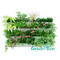 jardim interior hidroponia parede verde de plástico recipiente decorativo pendurado vaso de plantas