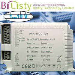 50w 0-10v led switching power supply with CE ROHS