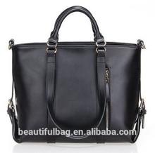 men black leather handbag