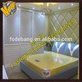 2014 nuevos productos alibaba china moderno diseño interior puerta corredera de cristal