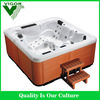 Luxury Balboa system and Aristech acrylic outdoor hot tub for 5 person with best service(JY8012)