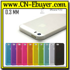 Super Slim Plastic Case Cover ultra thin case for iphone 5 5S