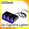 Minghui car lighter adapter with usb port /car cigarette lighter socket plug for charging used